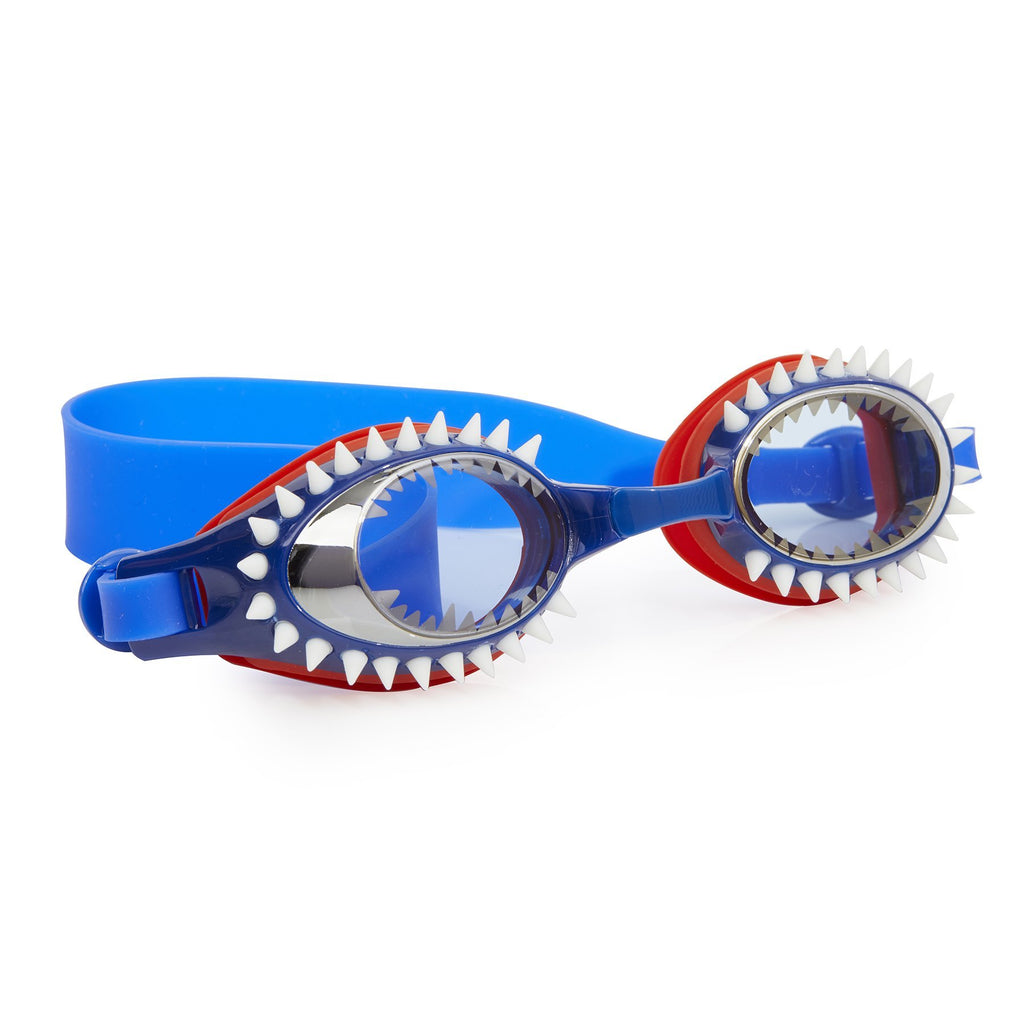 Bling2o Swim Goggles Fish-N-Chips - Tiger Shark Navy