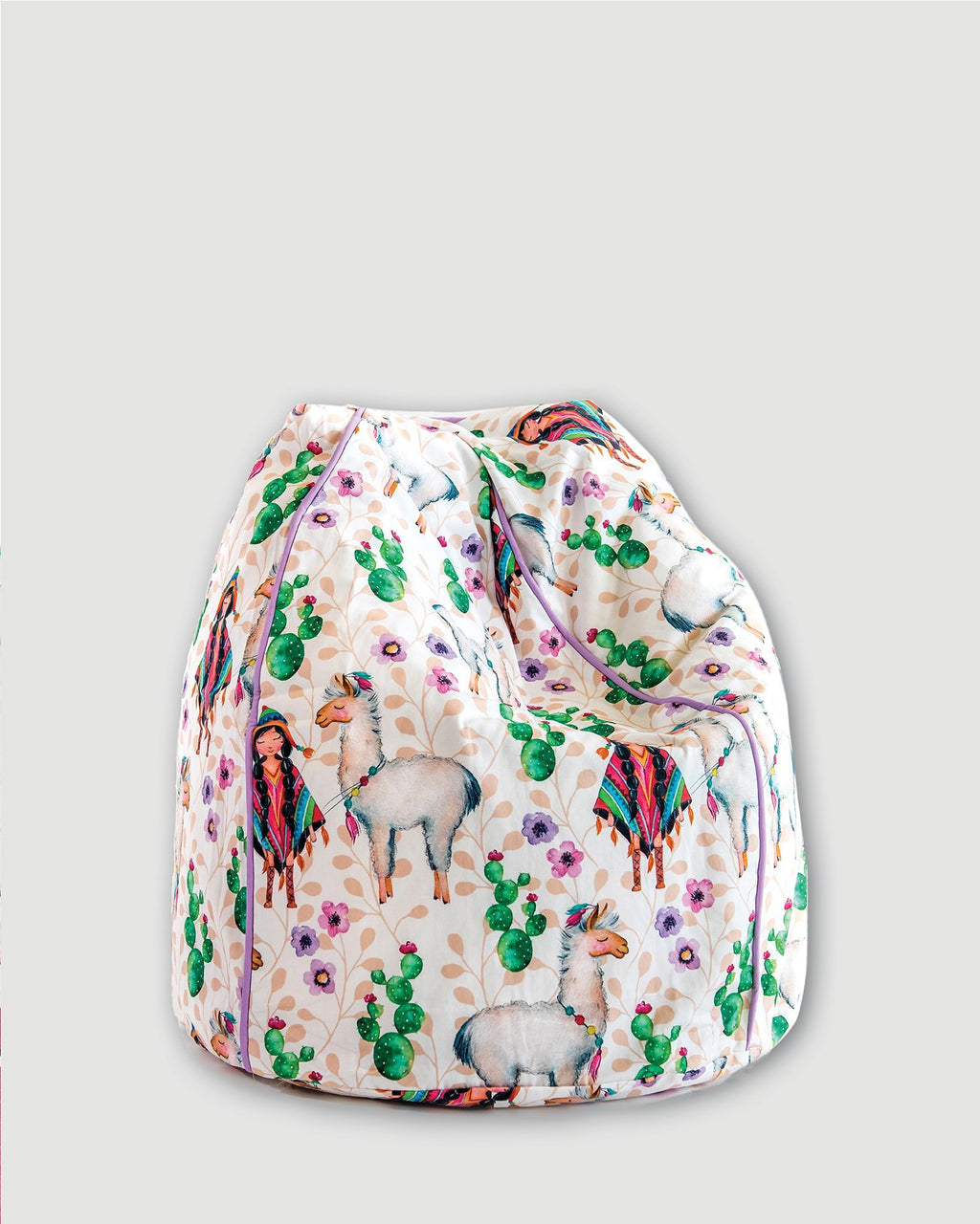 Bean Bag Cover - Peruvian Friends - Small