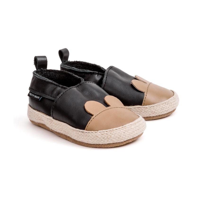 Pretty Brave ESPADRILLE Black Bear