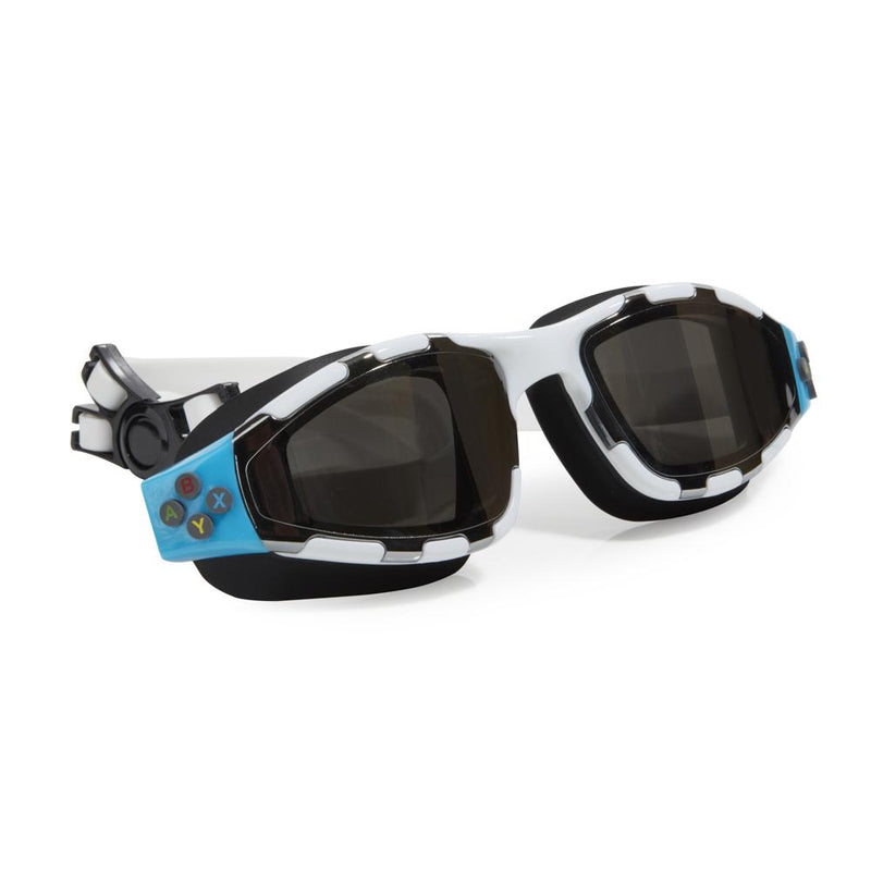 Bling2o Swim Goggles Gaming Controller - Platinum Edition White