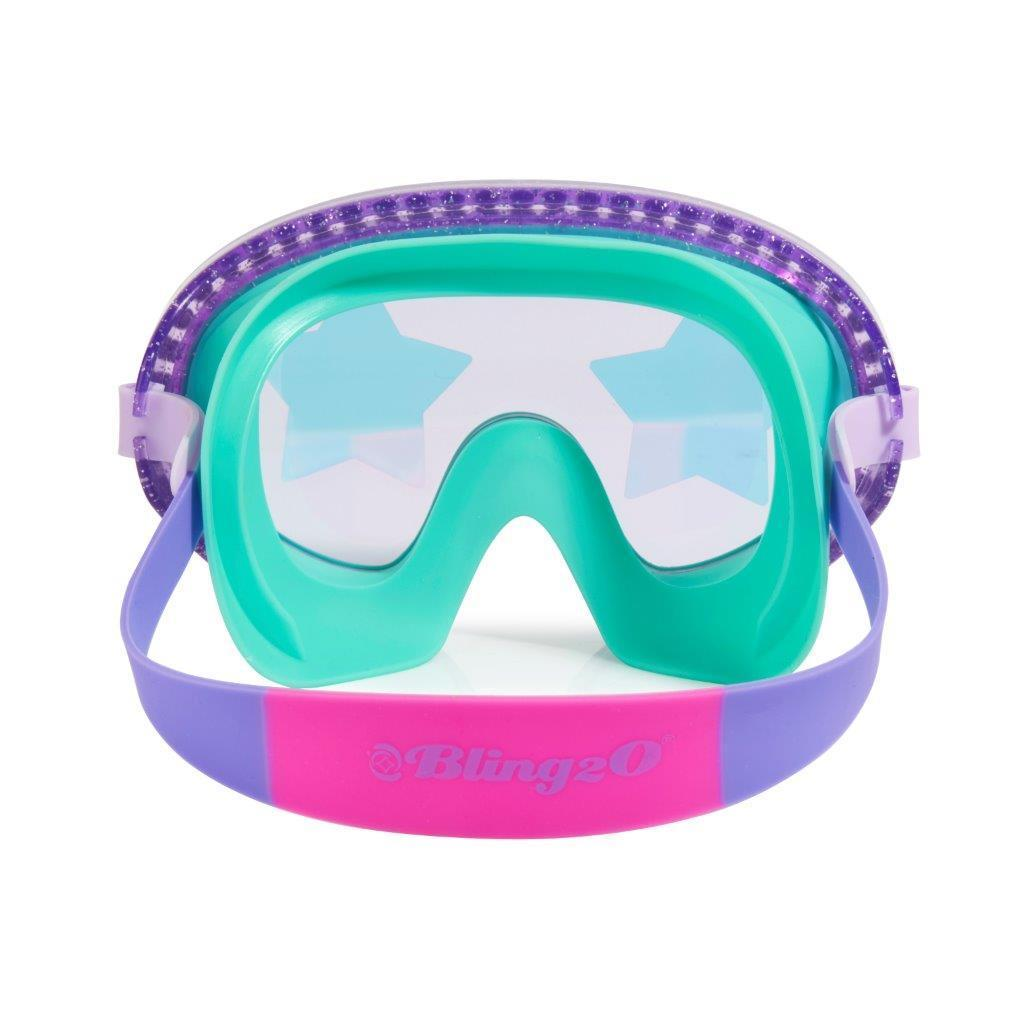 Bling2o Swim Mask Rock Star Glitter - Star Gaze Grape
