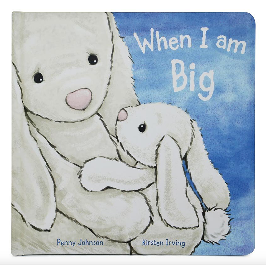 Jellycat Book 'When I Am Big'