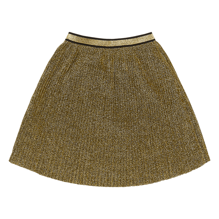 Rock Your Baby Metallic Gold Shimmer Skirt
