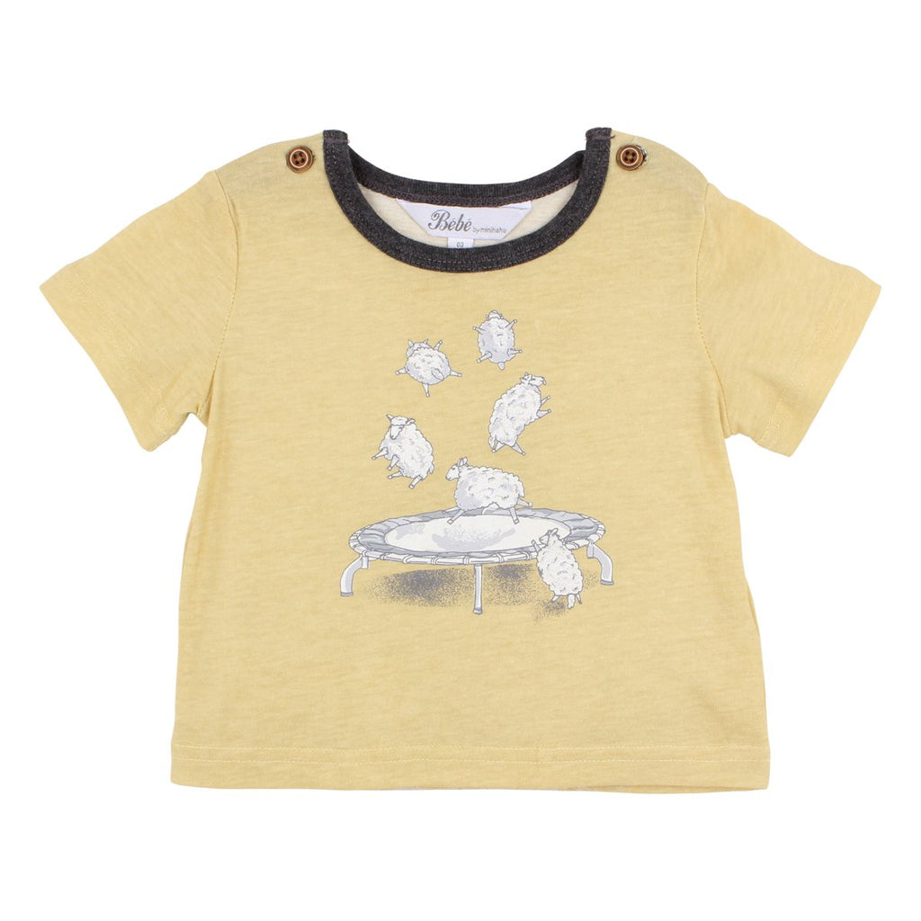 Bebe Henry Jumping Sheep T-Shirt