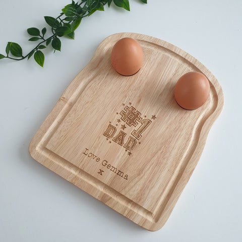 #1 Dad Egg Board