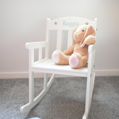 Personalised Child's Rocking Chair </p>                     </div> <!--bof Product URL --> <!--eof Product URL --> <!--bof Quantity Discounts table --> <!--eof Quantity Discounts table --> </div> </dd> <dt class=