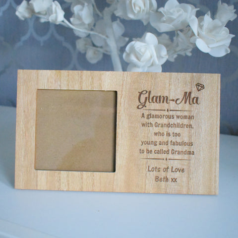 Glam-Ma Personalised Photo Frame