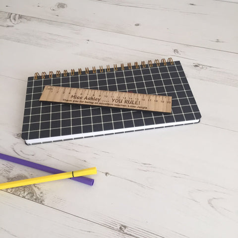 Personalised Wooden Ruler