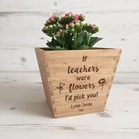 If Teachers Were Flowers.... Plant Pot
