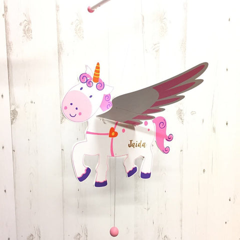 Personalised Flying Unicorn