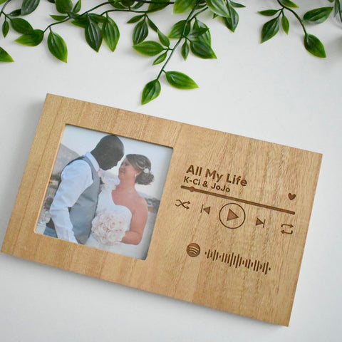 Personalised Spotify Photo Frame
