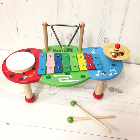 Personalised Xylophone Music Table