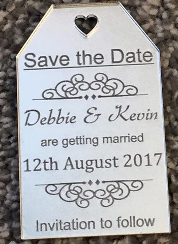 Save The Date Fridge Magnet x 50