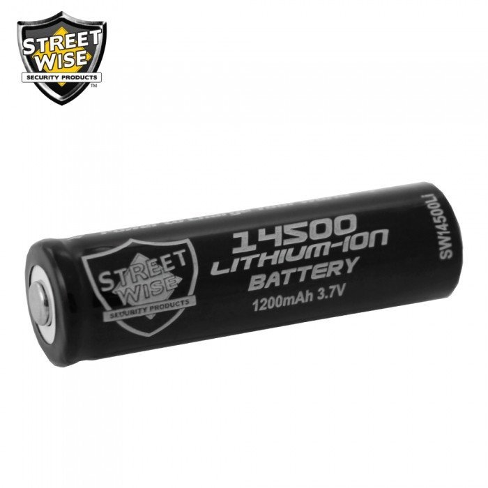 Batteries - Streetwise 14500 Lithium Ion Battery