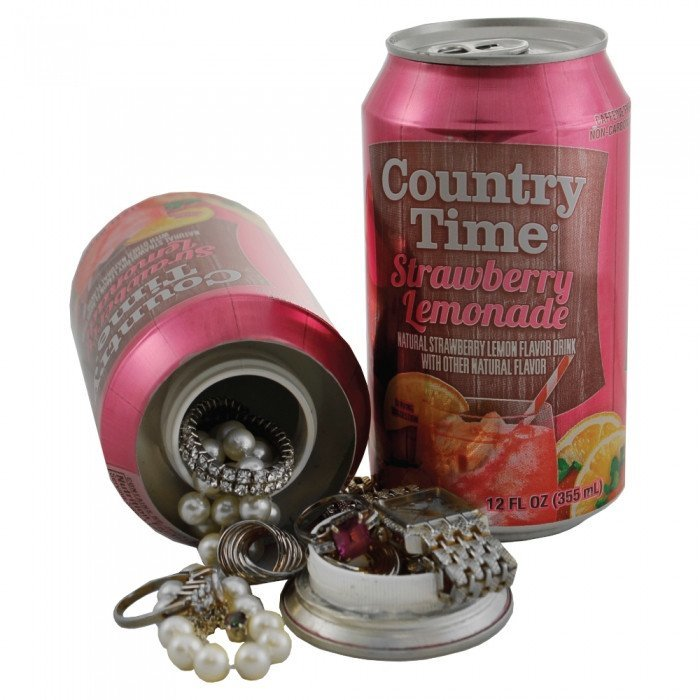 Diversion Safes - Country Time Can Diversion Safe