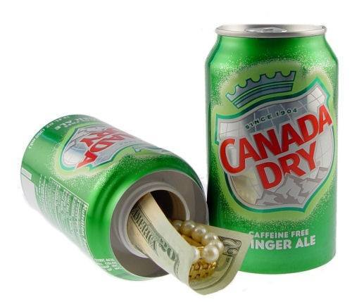Diversion Safes - Ginger Ale Can Diversion Safe
