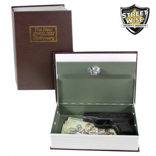 Diversion Safes - Streetwise Locking Book Safe With Key