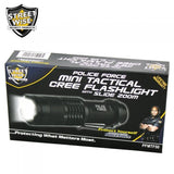Flashlights - Police Force Mini Tactical Cree Flashlight With Slide Zoom
