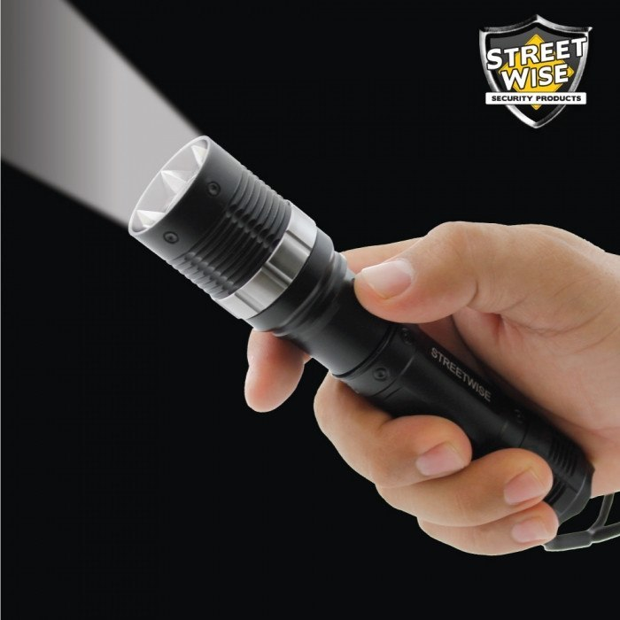 Flashlights - Streetwise Cree LED Flashlight With Retractable Spikes