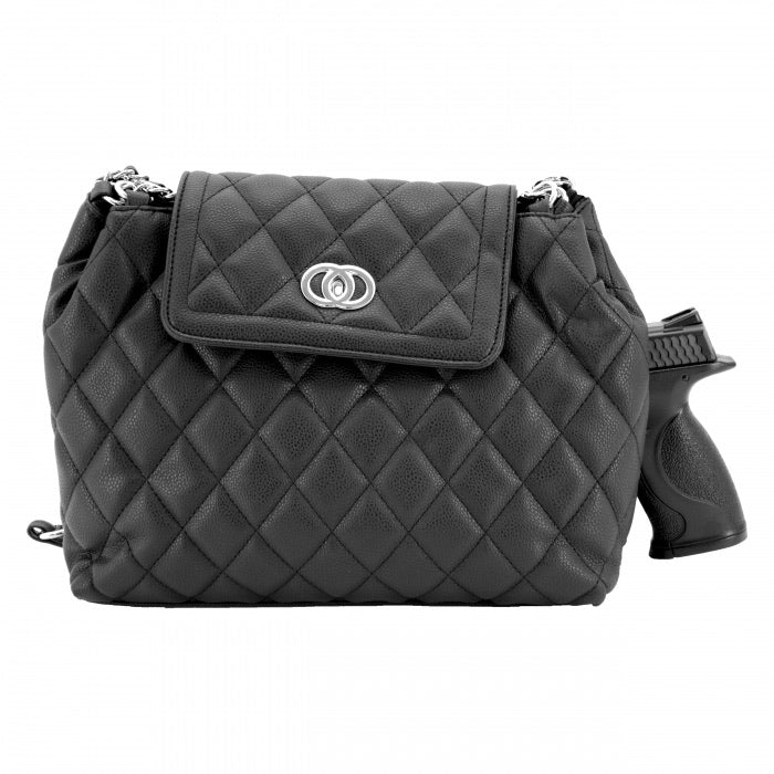 Coco CCW Handbag, Black Purse