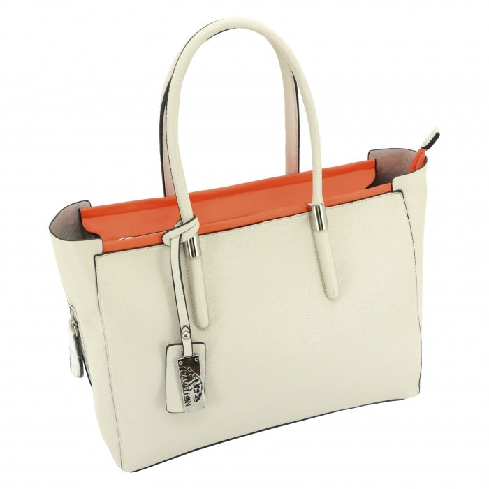 Calypso CCW Handbag, White/Red