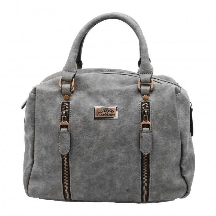 Sahara CCW Handbag, Grey Purse
