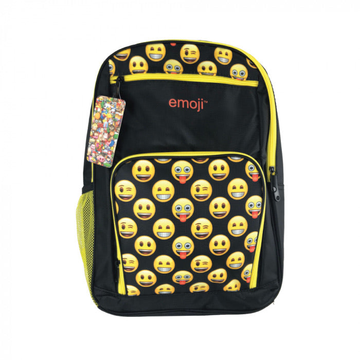 Emoji Bulletproof Backpack, YELLOW