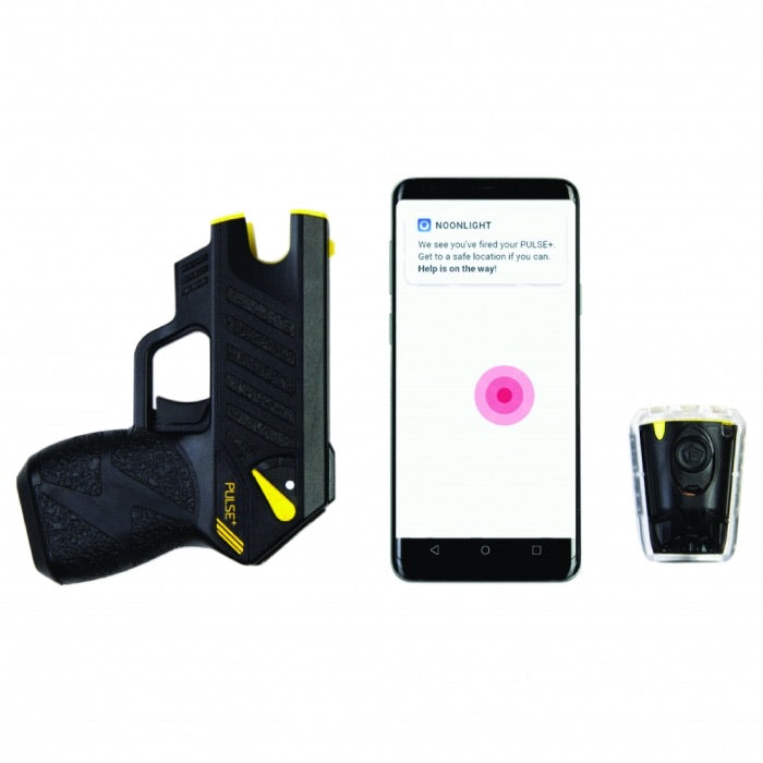 Taser Pulse Plus Noonlight Emergency Response App. BLACK