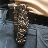 Tactical Rescue Folding Knife BLACK LIGHTNING