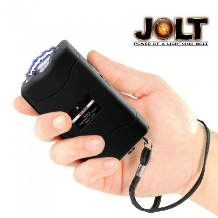 JOLT 56,000,000 Volt Black Mini Stun Gun