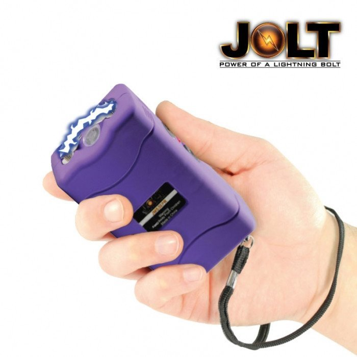 JOLT 35,000,000 Volt Purple Mini Stun Gun
