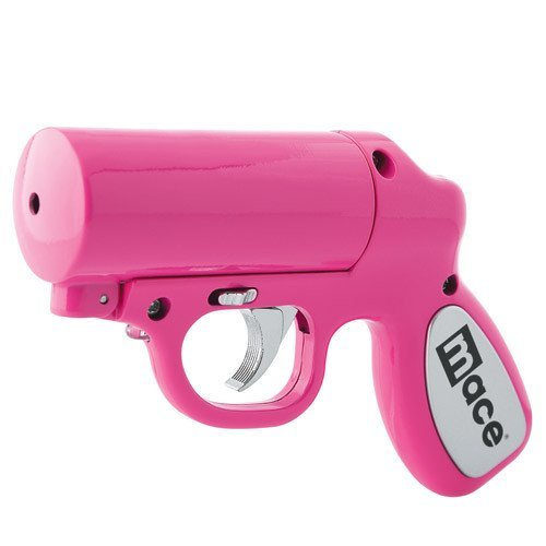 Mace Pepper Gun in Pink