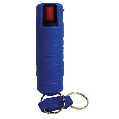 Pepper Shot 1/2 oz Pepper Spray with Hard Blue Case