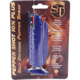 Pepper Spray - Pepper Shot 1/2 Oz Pepper Spray With Hard Blue Case