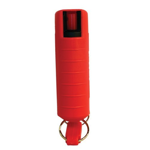 Pepper Shot 1/2 oz Pepper Spray with Hard Red Case
