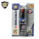 Pepper Spray: Streetwise 18 - Lab Certified Streetwise 18 Pepper Spray, 3 Oz Twist Lock