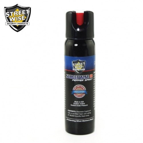 Pepper Spray: Streetwise 18 - Lab Certified Streetwise 18 Pepper Spray 4 Oz Twist Lock