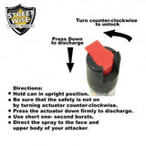 Pepper Spray: Streetwise 23 - Police Strength Streetwise 23 Pepper Spray 1/2 Oz