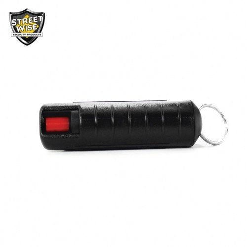 Pepper Spray: Streetwise 23 - Police Strength Streetwise 23 Pepper Spray 1/2 Oz In Black Hard Case