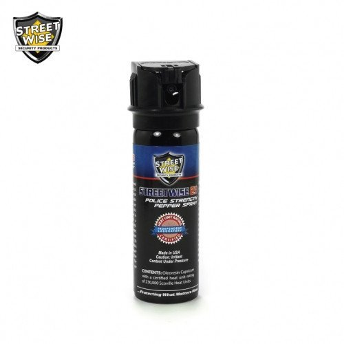 Pepper Spray: Streetwise 23 - Police Strength Streetwise 23 Pepper Spray 3 Oz Flip Top