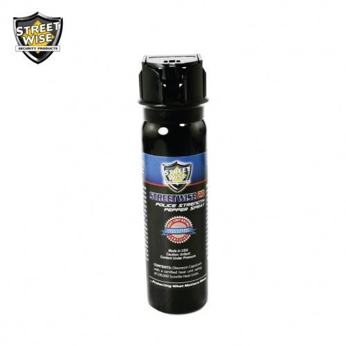 Pepper Spray: Streetwise 23 - Police Strength Streetwise 23 Pepper Spray 4 Oz Flip Top