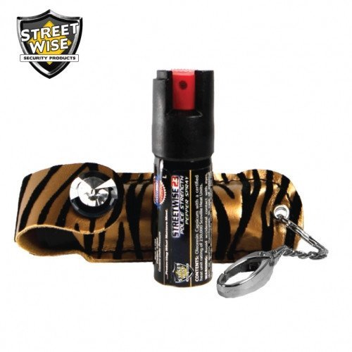 Pepper Spray: Streetwise 23 - Streetwise Fashion Model Pepper Spray 23 Tan & Black