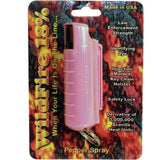 Pepper Spray - Wildfire Pepper Spray 1/2oz In Pink Hard Case