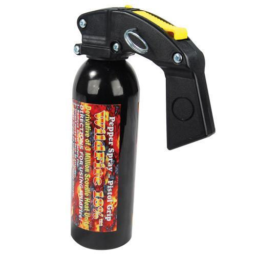 Pepper Spray - WildFire Pepper Spray Pistol Grip 1lb