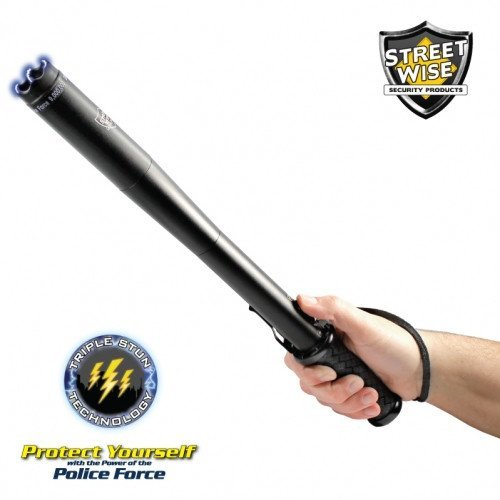 Police Force 9,000,000 Volt Tactical Stun Baton Flashlight