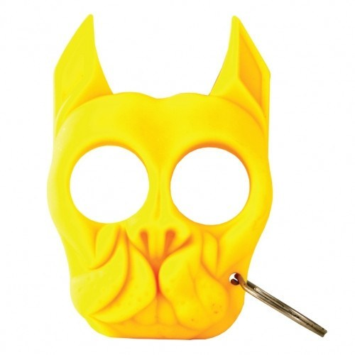 Brutus Self-Defense Keychain in Yellow
