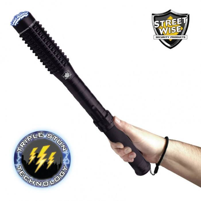 Streetwise Mini Barbarian 9,000,000 Volt Flashlight Stun Baton