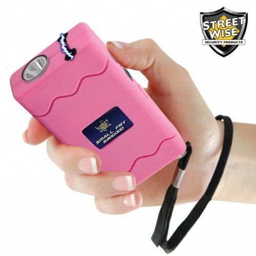 Streetwise Stun Guns - Small Fry 8,800,000 Volt Pink Stun Gun Flashlight