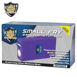 Streetwise Stun Guns - Small Fry 8,800,000 Volt Purple Stun Gun Flashlight