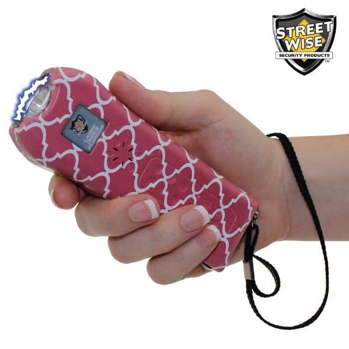 Streetwise Ladies' Choice 21,000,000 Volt Coral Stun Gun